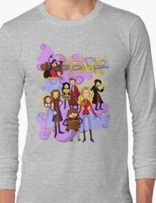 Once Upon An Adventure Time! Long Sleeve T-Shirt
