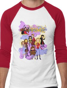 Once Upon An Adventure Time! Men's Baseball ¾ T-Shirt