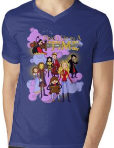 Once Upon An Adventure Time! Mens V-Neck T-Shirt