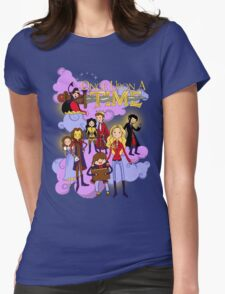 Once Upon An Adventure Time! Womens Fitted T-Shirt
