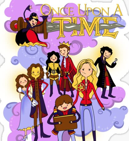 Once Upon An Adventure Time! Sticker