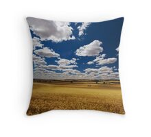 Golden Harvest Throw Pillow