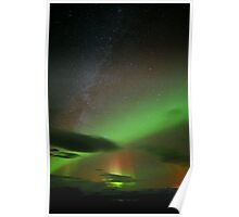 Northern Lights from Iceland  Poster