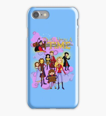 Once Upon An Adventure Time! iPhone Case/Skin
