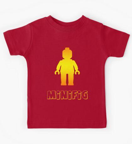 Minifig [Golden] Kids Tee