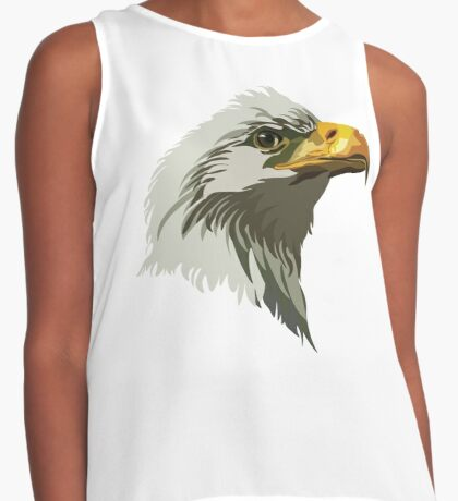Bald Eagle  Contrast Tank