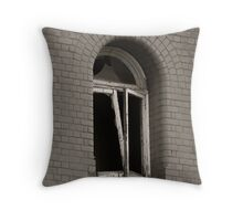 Distraught Openings Throw Pillow