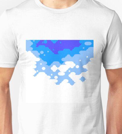 Kirby's Adventure - Vegetable Valley Sky Unisex T-Shirt