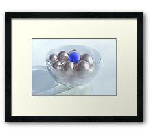 Crystal Bowl Framed Print