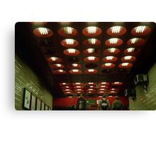 Prague instalation ceiling Canvas Print