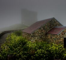 Enshrouded in Fog by Kevin  Kroeker