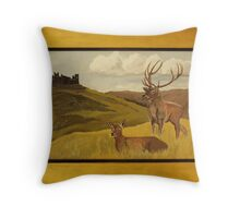 """Derbyshire View"" ART FRAUD EXPOSED! Throw Pillow"