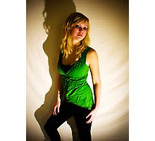 Sanna in green II Photographic Print
