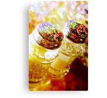 salt and  pepper Canvas Print