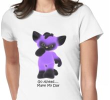 Go Ahead--tee Womens Fitted T-Shirt