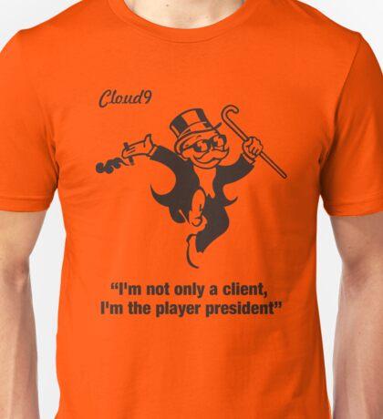 Player President - Cloud 9 Edition Unisex T-Shirt