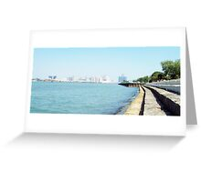 Windsor water-front Greeting Card