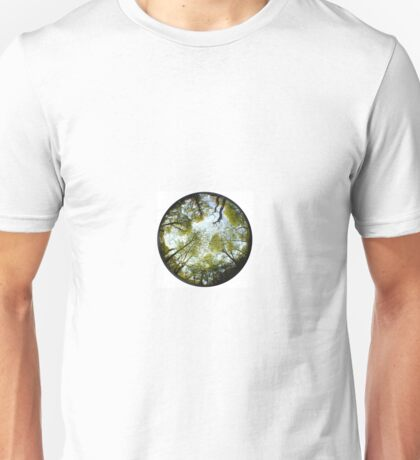 Fisheyed Forest Unisex T-Shirt