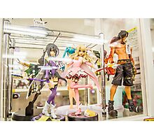 Anime Figures Photographic Print