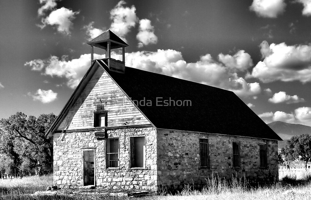 Country Schoolhouse by Linda Eshom
