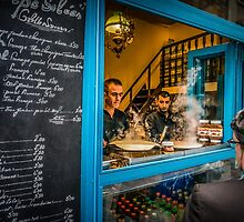 Paris Crepes by Russell Charters