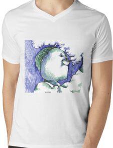 Trippin Mens V-Neck T-Shirt