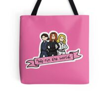 We Run the World Tote Bag