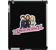 We Run the World iPad Case/Skin