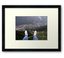 Taking the Leap Framed Print