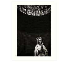 Virgin Mary at Porto Sant Elpidio, Italy Art Print