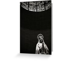 Virgin Mary at Porto Sant Elpidio, Italy Greeting Card