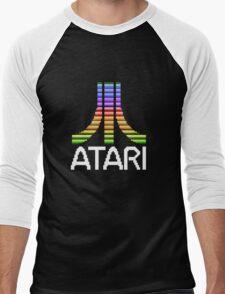Atari - Original Screen Logo Men's Baseball ¾ T-Shirt