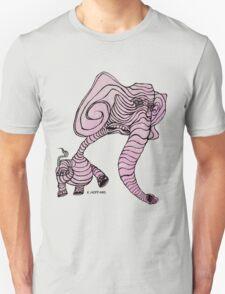 Pink Elephant Unisex T-Shirt