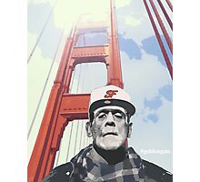 #goldengate (Frankie's selfie) Photographic Print