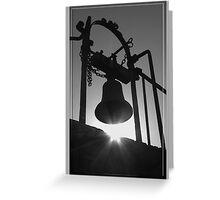 Sunstruck Bell Greeting Card