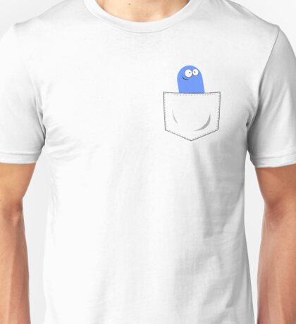 Foster's Home For Imaginary Friends - Bloo Pocket Unisex T-Shirt