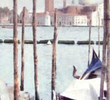 Gondolas, Venice Sticker