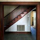 Stairwell And Hallway by WildestArt