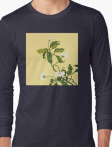 White Blossoms from Amphai Long Sleeve T-Shirt
