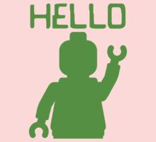 Minifig Hello Kids Tee