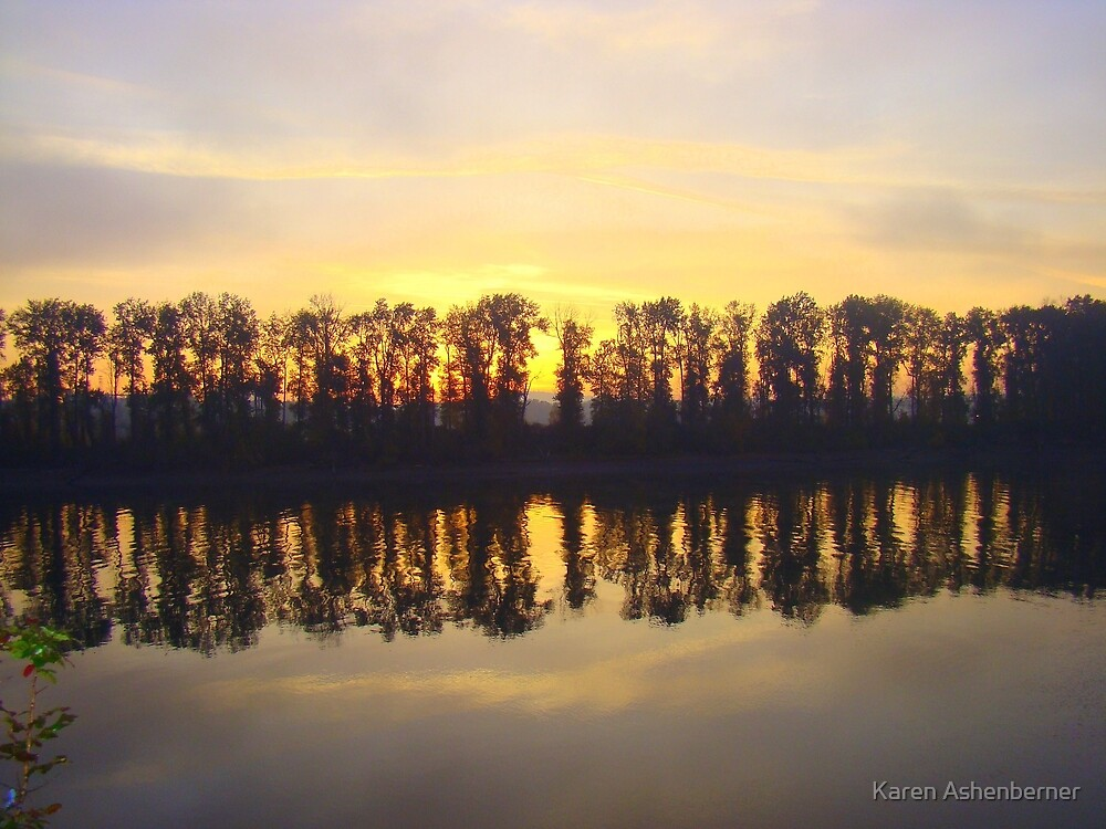 Morning Reflection by Karen Ashenberner