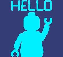 Minifig Hello Unisex T-Shirt