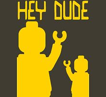 Minifig Hey Dude Unisex T-Shirt