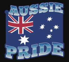 AUSSIE pride with australian flag by jazzydevil
