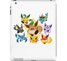 Eevee kirby pokémon iPad Case/Skin