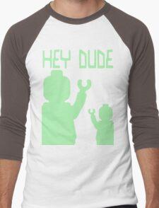 Minifig Hey Dude Men's Baseball ¾ T-Shirt