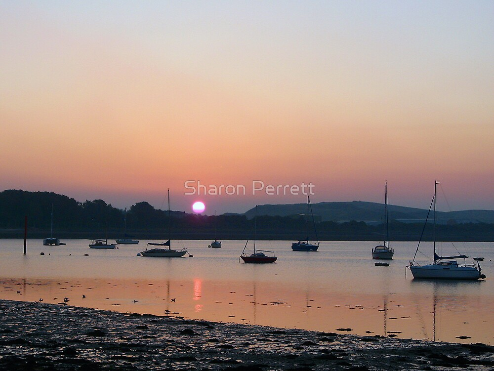 Sunset 08-09-07 by Sharon Perrett
