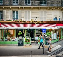 Paris Cafe by Russell Charters