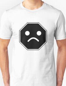 UNHAPPY MINIFIG FACE ROADSIGN  T-Shirt