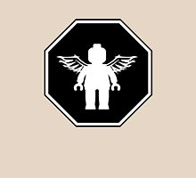 ANGEL MINIFIG ROADSIGN Womens Fitted T-Shirt